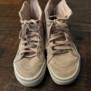 Vans High Top Blush Sneakers